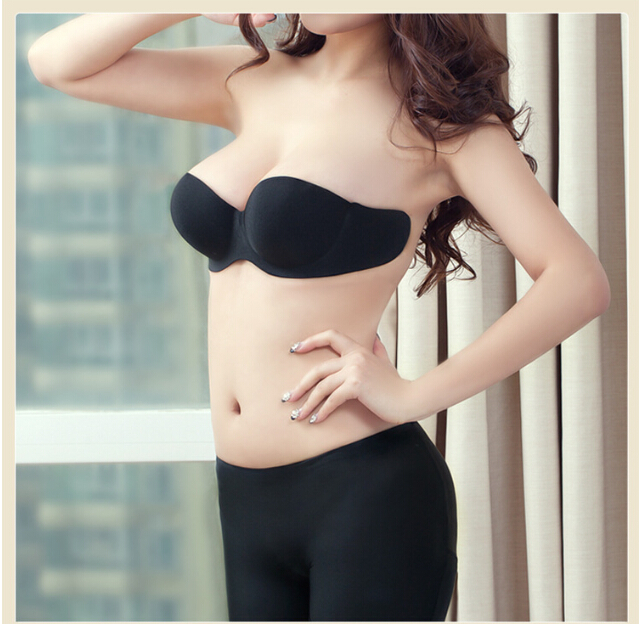 Hot Sexy Girls Without Panties Big Cup Invisible Backless Bra adhesive bra For Wholesale