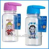 plastic sport water bottle with filter net