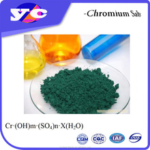 Zhen Hua Chromic Salt Basic Chromium Sulphate Tanning Compound CAS 39380-78-4