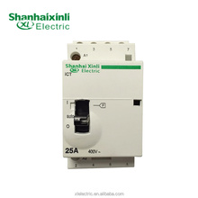 XINLI 100% factory directly Din Rail New Type ICT 25A 400V Household Contactor Automatic Function with CE IEC no nc