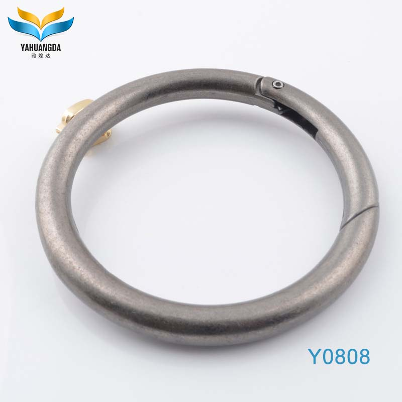 hot new products metal spacer 2 inch d ring for backpack