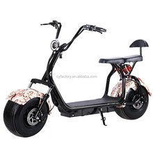 2 wheel fat tire electric scooter 72v Dual power 2000W electric motorcycle