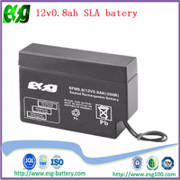rechargeable 12v1.3ah maintenance free ups battery for safety device and alarm monitoring