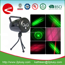 China wholesale mini green and red laser star projector