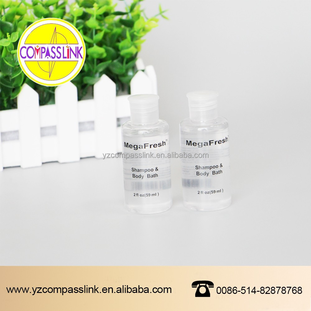 Disposable 30ml Hotel Shampoo Bottle