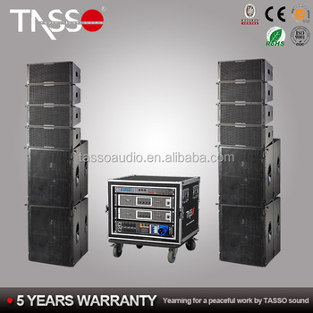 "Dual 8"" two way passive line array speakers system"