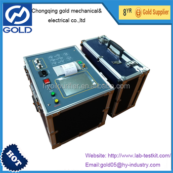GDGS Automatic Transformer Tangent Delta Tester