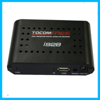2014 New satellite receiver azbox premium hd /tocomfree i928 iks free for South America