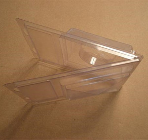 Plastic packaging clamshell packaging double blister package