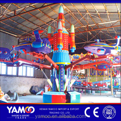 Attractive kids indoor amusement park rides self-control plane/ cheap amusement park rides for sale