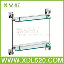 safety glass refrigerator shelf/wall mounted network racks/bathroom pole shelf