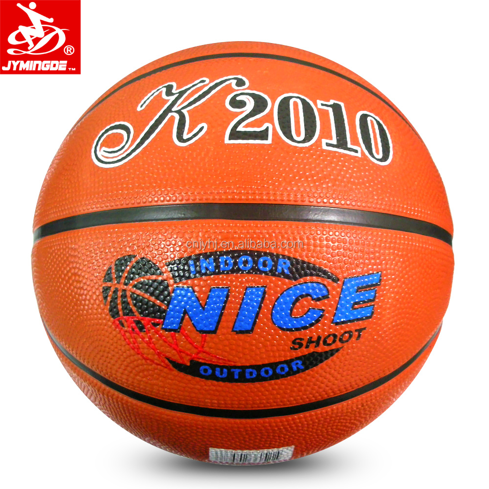 Top quality Office size 7 rubber grip basketball