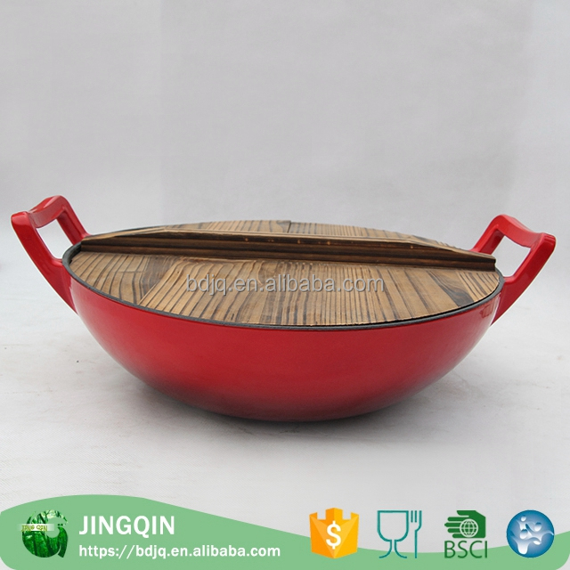 factory outlets porcelain enamel cookware sets Frying Pans