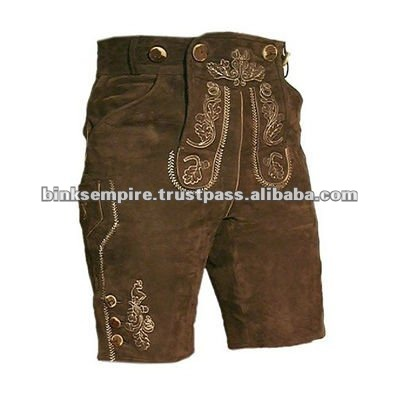 bavarian leather shorts