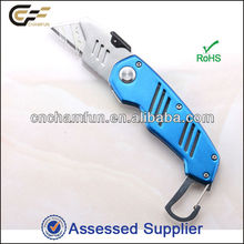 2016 new carton box cutter with keyring