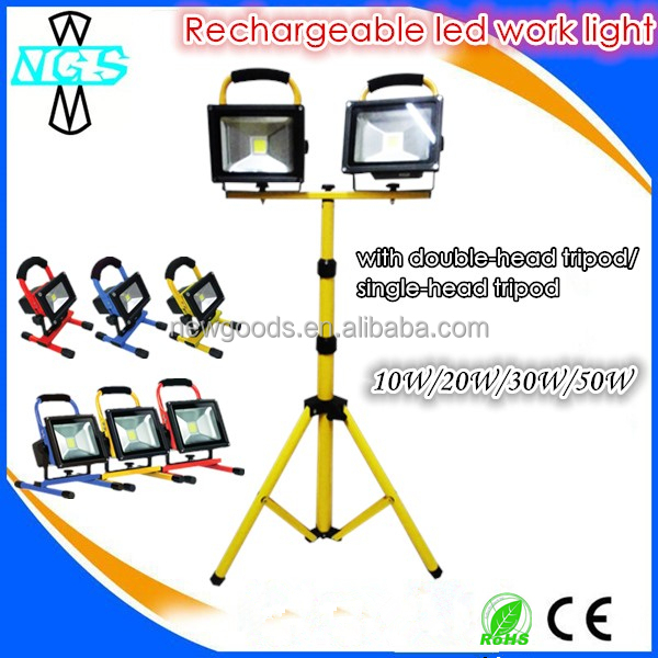 LED outdoor construction use tripod led work light