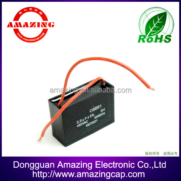 Best sell 250vac cbb1 capacitor, capacitor motor start, capacitor manufacturing buy in china