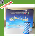 Dye Sublimation Full Color Print Pop Up Tension Fabric Display