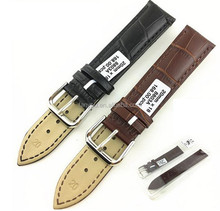 Luxury watches accessories crocodile leather watch band double strap watches