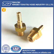 Cheap And High Quality Brass Steel Male Hose Barb Nipple