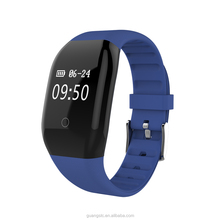 Wholesale 608HR heart rate Monitor Smartband Bluetooth programmable bracelet With Blood Pressure Monitor