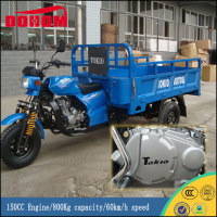 150CC Engine Mini Truck Air Cooled Covered Cargo Trike