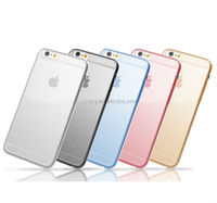 G-case brand ultra thin 0.5mm TPU case for iphone 6