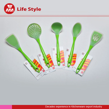 Hot Selling Colorful Kitchen Silicone Spatula Set with food grade material