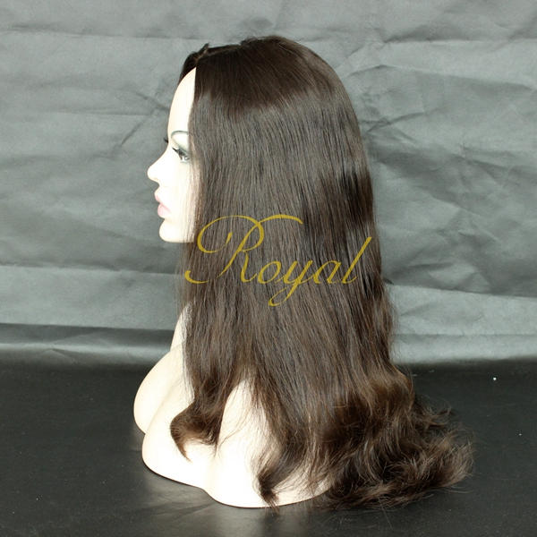 25Inch Unprocessed Best Popular tip Wave Silk top European Virgin 100% human Hair Jewish Wig Kosher Wig