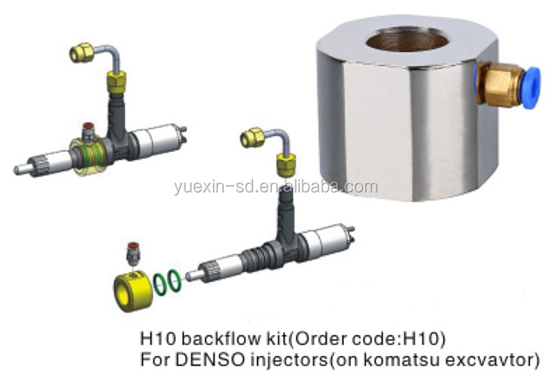 <strong>H10</strong> Backflow <strong>kit</strong> for Denso injectors
