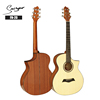 wholesale price korean mahogany 40inch wooden acoustic guitar FN-20