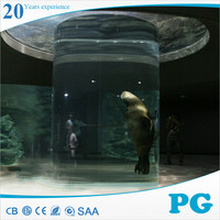 PG Custom Tank Acrylic Oval Coffee Table Fish Aquarium
