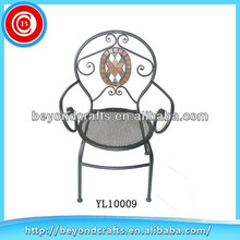 Wholesale latest beautiful popular art deco metal chairs