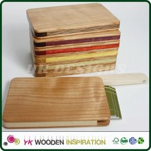 Wooden business card case for Corporate Gift