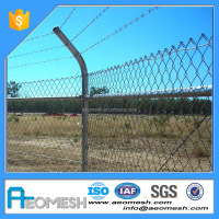 Made In Guangdong Hot Sale Galvanized Used 6Ft Chain Link Fence Panels For Sale
