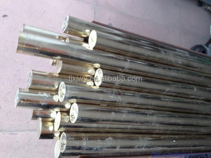Aluminum bronze round bars with excellent abrasion resistance C61400