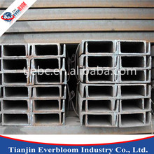 china supplier u-shape steel channels , channels steel