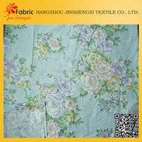 Printed colorful bedding best quality cheap types of woven fabric