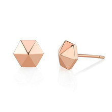 Golden earring designs for women top sale stud earring