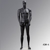 New Original Fashion male ADM-A-Glossy black male dummy mannequin