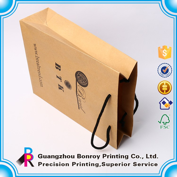 China High Quality Cheap Custom Brown Paper Bag Company