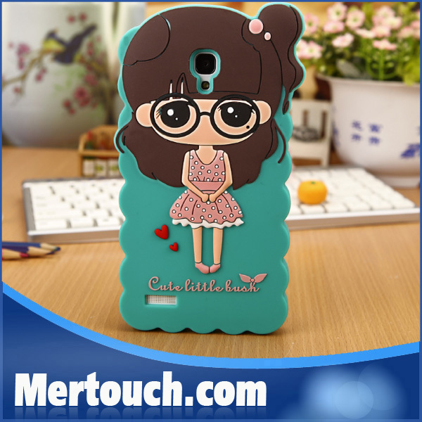 fashionable Silicon Case for Mobile Phones Xiaomi Mi4 , Soft Silicon Protective Case for Xiaomi Mi 4 M4
