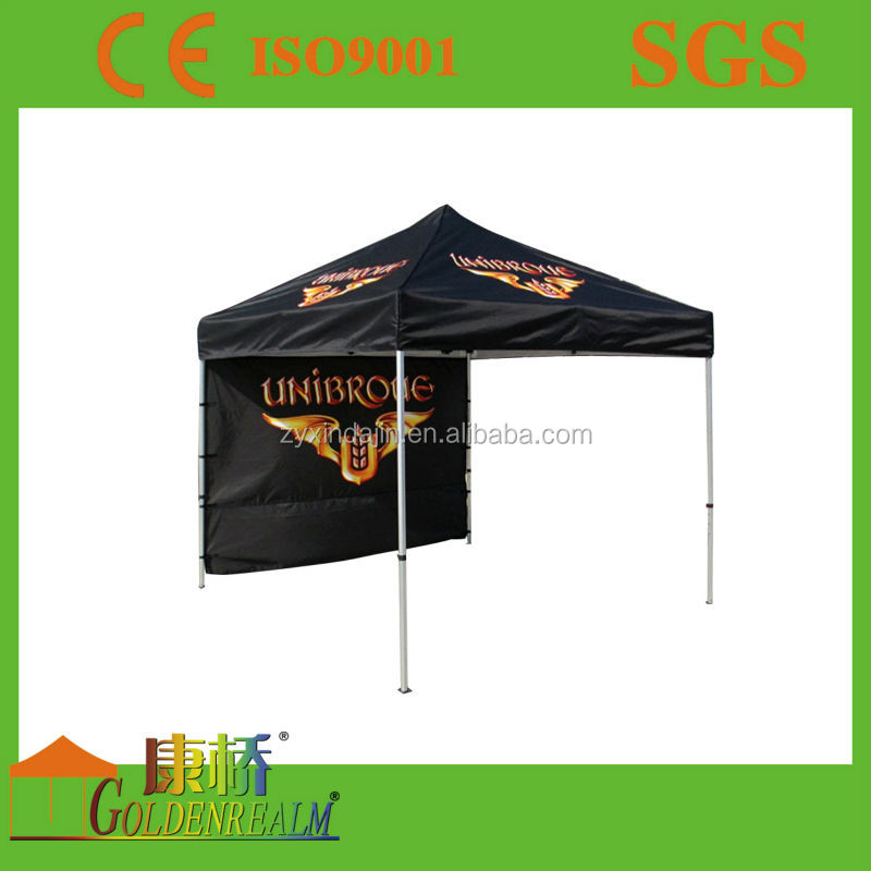 free design promotional large advertising fold tent