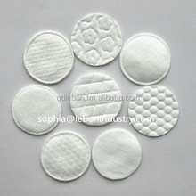 Makeup remover round cotton pad