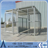 hot dipped galvanized Metal Dog Kennel/Modular Dog Kennel/Lager Dog Kennel