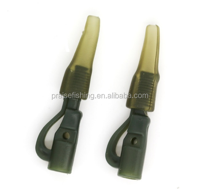 Fishing Terminal Tackle Carp Fishing Safety Lead Clip & Tail Rubber Carp Fishing Accessories