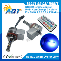 07-12 3-series E93 convertible 8w Angel Eye RGB Remote Control for BMW