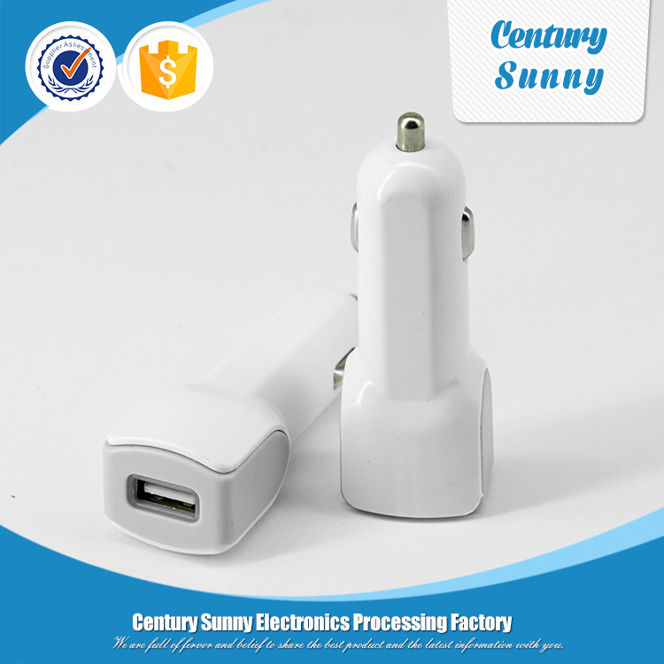 Professional mobile phone accessories factory wholesales USB car charger