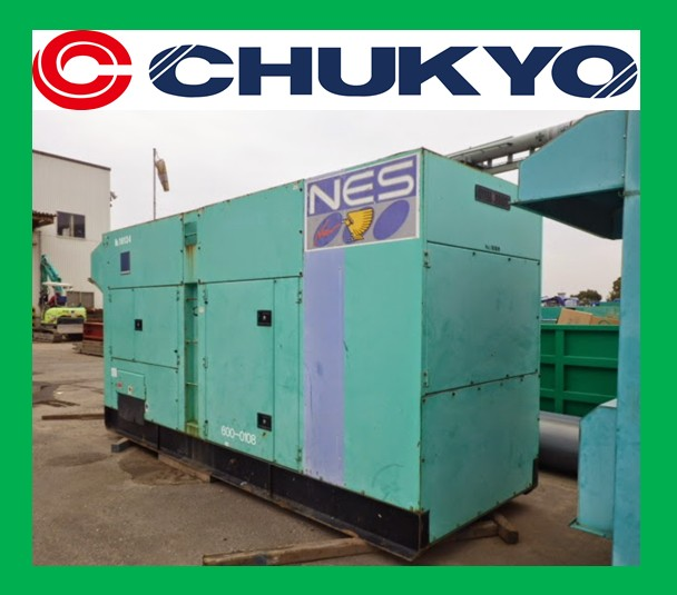 600 kVA Power Generator For Sale Nissha NES 600SM-3 <SOLD OUT>
