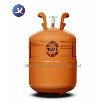 Disposable cylinder packing or CE cylinder packing R407c refrigerant